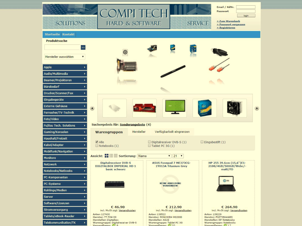 Compi-Tech Onlineshop