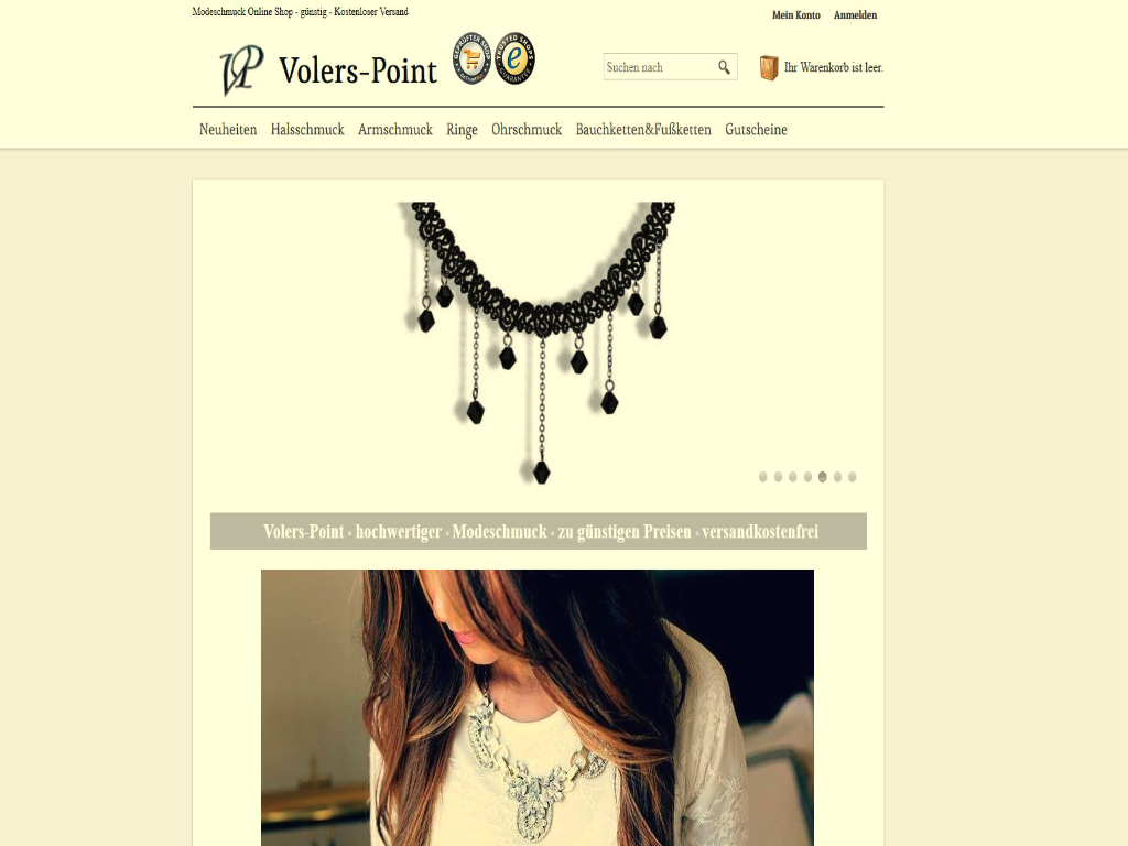 Volers-Point Modeschmuck Accessories Online Shop