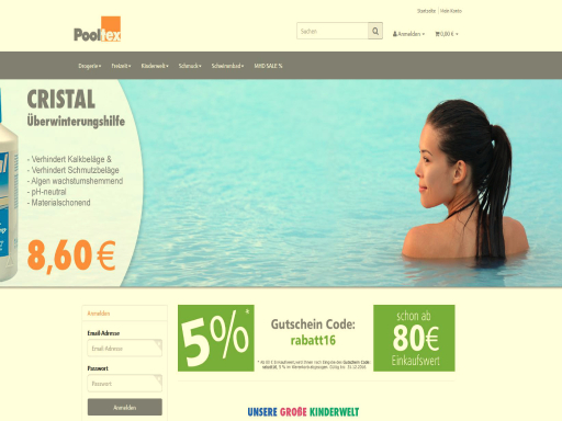 Pooltex Dein Shoppingpool